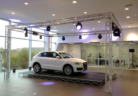 Lancement de véhicule Audi